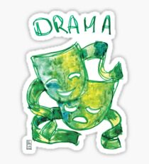 Drama Masks Sticker