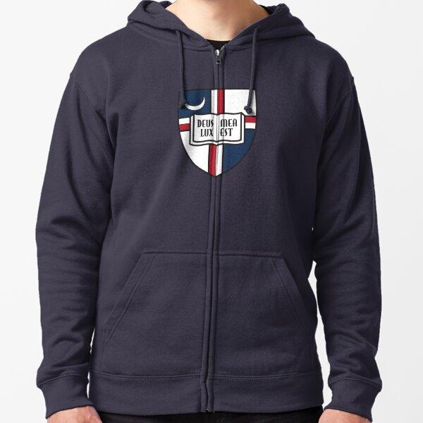 Logo de l'Université catholique d'Amérique Veste zippée à capuche
