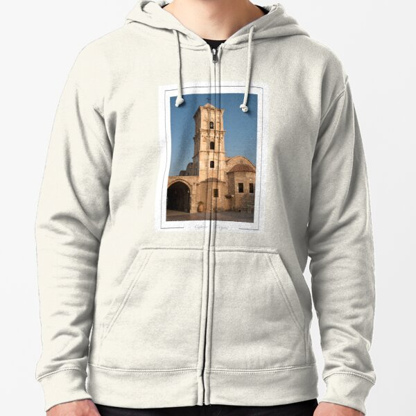 Larnaca Cyprus.  Ayios Lazaros Church, built in the ninth century to house the remains of Lazarus. Zipped Hoodie