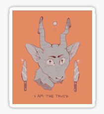 i am the truth Sticker
