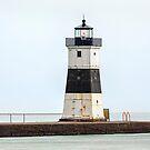 Presque Isle North Pierhead Lighthouse by Kenneth Keifer
