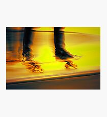 Skateboarding -- speed Photographic Print