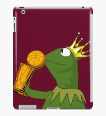 Frog Kissing Championship Trophy iPad Case/Skin