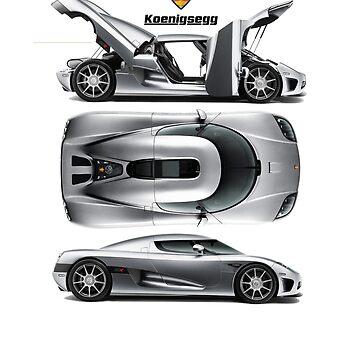 Koenigsegg tribute by janjuc