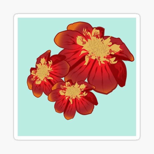 Dahlia 2016 Sticker