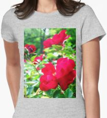 by your side Womens Fitted T-Shirt