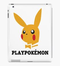 Playboy-Pokemon iPad Case/Skin