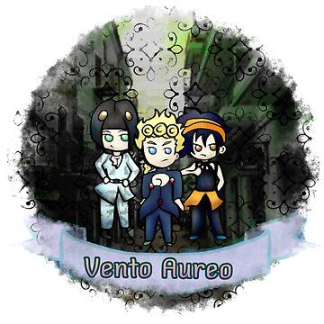 Vento Aureo   by Katastra
