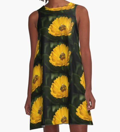 A Very Busy Bee A-Line Dress