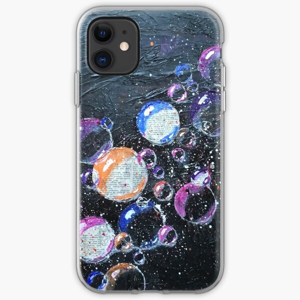 Galaxy Bubbles 2 iPhone Soft Case