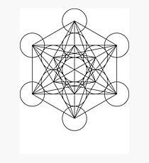 Metatron's Cube | Sacred Geometry Photographic Print