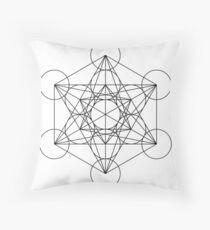 Metatron's Cube | Sacred Geometry Throw Pillow