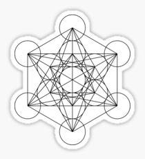 Metatron's Cube | Sacred Geometry Sticker
