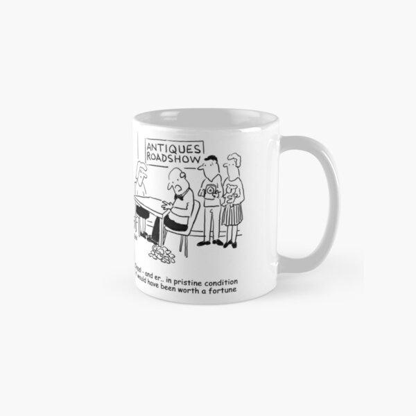 Oops - Antiques Roadshow expert drops an item Classic Mug
