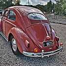 Volkswagen type 1 in Coral Peach by Ferenghi