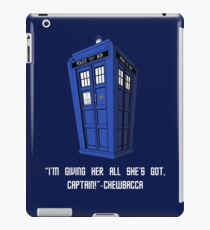 Doctor Who Misquote iPad Case/Skin