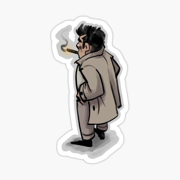 Columbo Wondering Sticker