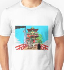 Spirited Away Drawing Unisex T-Shirt