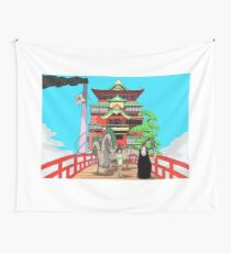 Spirited Away Drawing Wall Tapestry