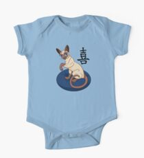 Siamese Chinese Cat Kids Clothes