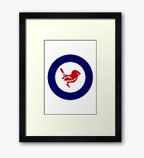 Tomtit Air Force Roundel Framed Print