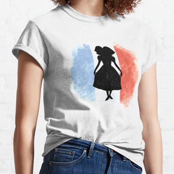 Alsace girl French flag Classic T-Shirt