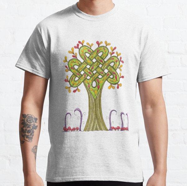 Whimsical Celtic Tree Classic T-Shirt