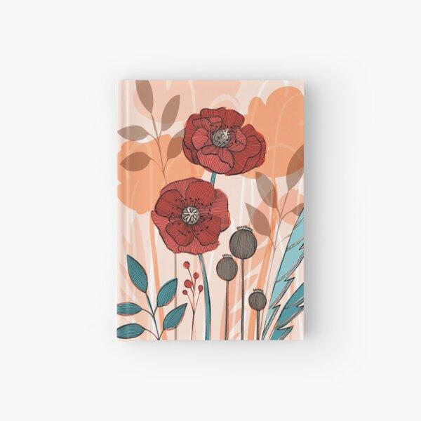 Poppy Fields Hardcover Journal