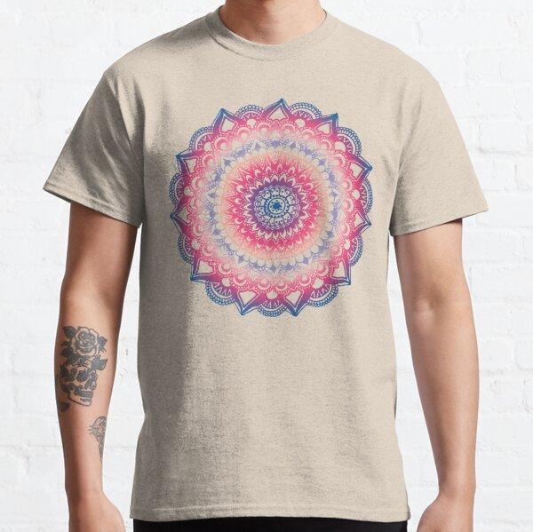 Ocean Sunset Mandala Camiseta clásica