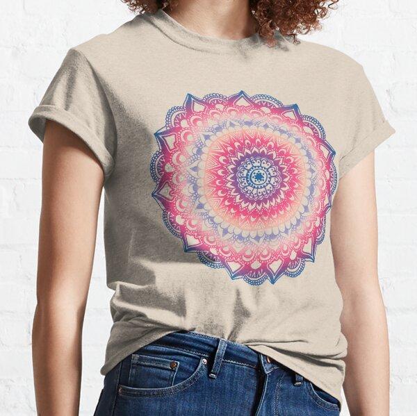 Ocean Sunset Mandala Classic T-Shirt
