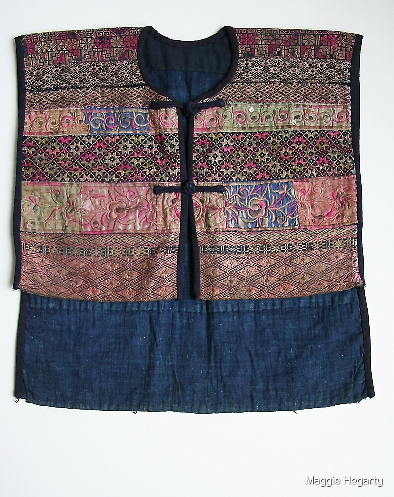Vintage Chinese child's jacket by Maggie Hegarty