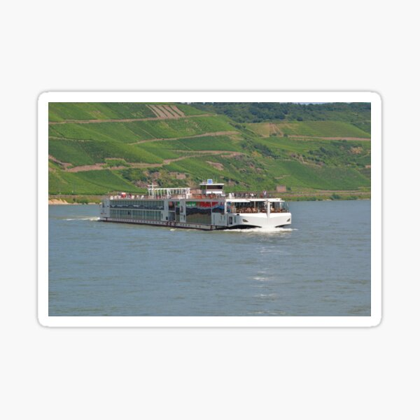 River Cruise Ship Viking Idun Sticker