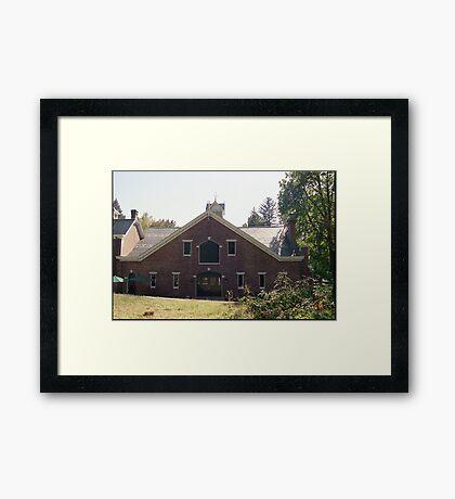 Stables, Lyndhurst Framed Print
