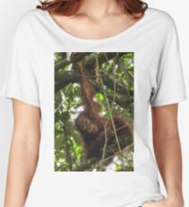 Young Orangutan - Borneo Women's Relaxed Fit T-Shirt
