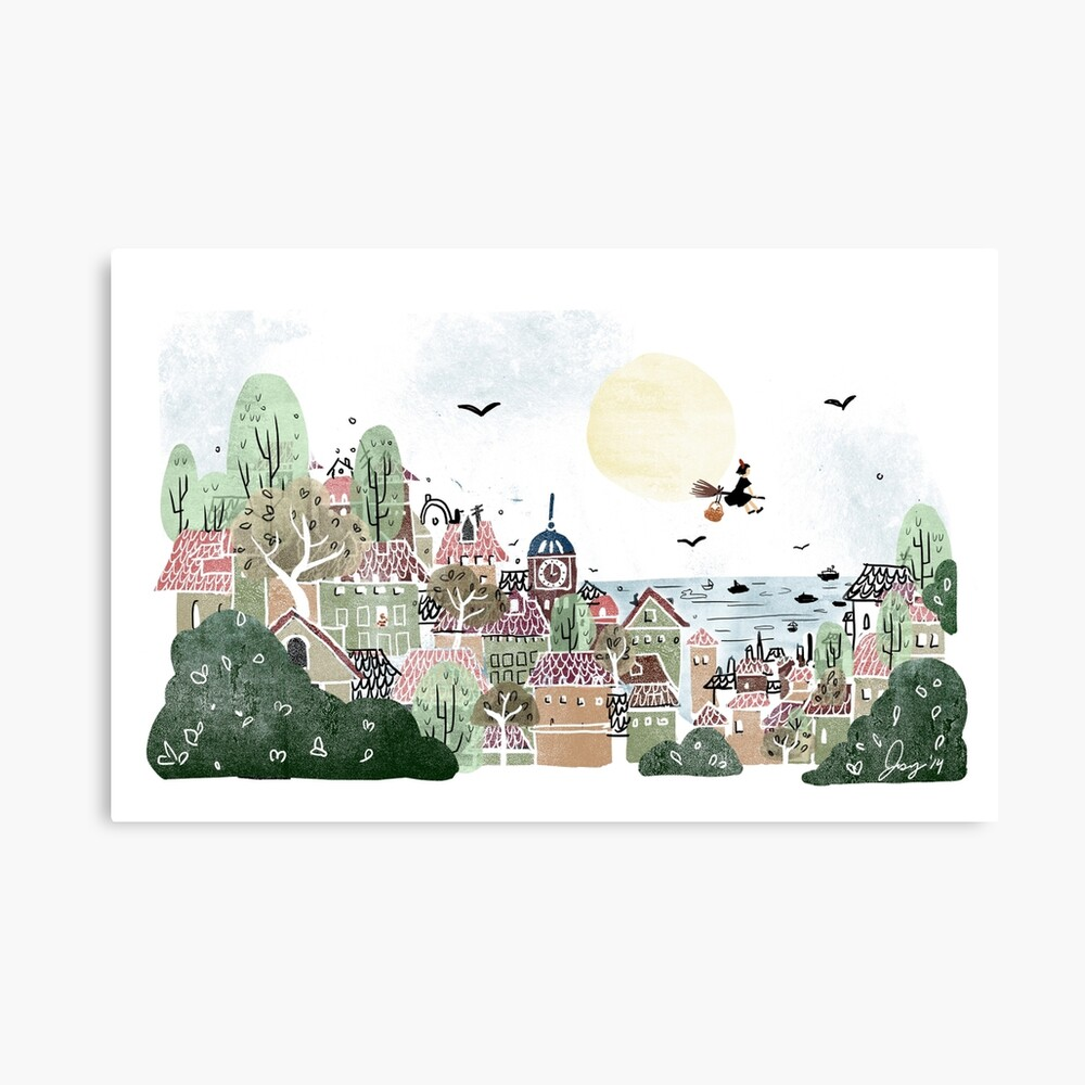 Just Another Delivery Canvas Print