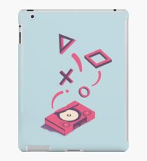 ElectroVideo Playstation (Pink and Blue) iPad Case/Skin