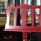 The Beauty of Wood - Music Stand and Books von BlueMoonRose