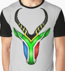 South African Springbok Graphic T-Shirt