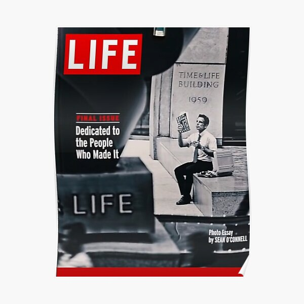 Walter Mitty LIFE Cover Poster