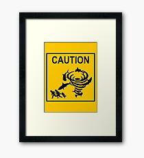 Sharknado Crossing Framed Print