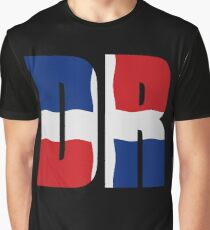 Flag Dominican Republic Graphic T-Shirt