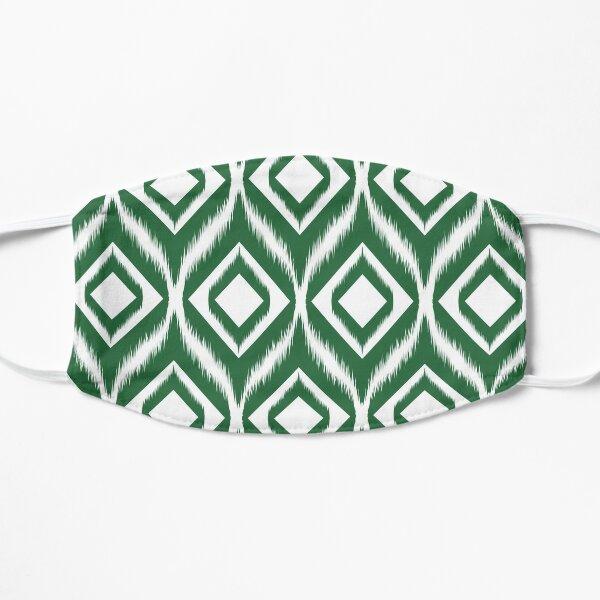 Ikat pattern ethnic tribal textile fabric aztec motif geometric mandalas native boho bohemian carpet African American digital paper  Flat Mask