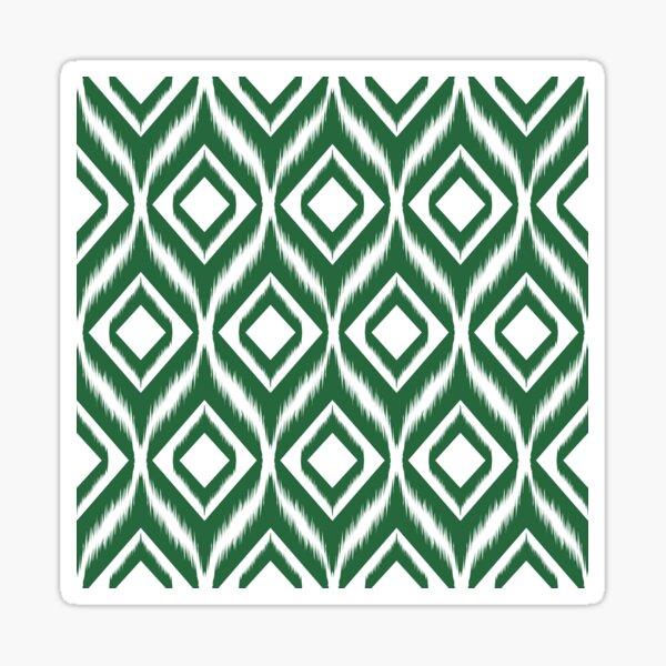Ikat pattern ethnic tribal textile fabric aztec motif geometric mandalas native boho bohemian carpet African American digital paper  Sticker