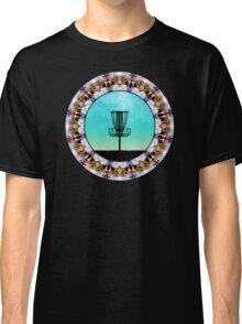 Disc Golf Abstract Basket 4 Classic T-Shirt