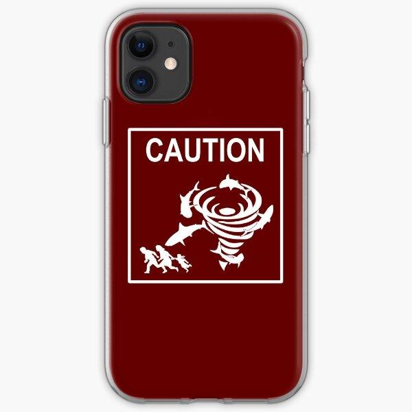 Sharknado Crossing iPhone Soft Case