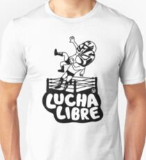mexican wrestling lucha libre16 T-Shirt