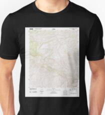 USGS TOPO Map Arizona AZ Mescal Warm Spring 20111129 TM Unisex T-Shirt
