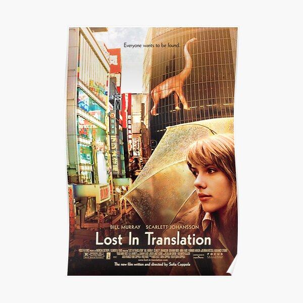 In der Übersetzung verloren Poster