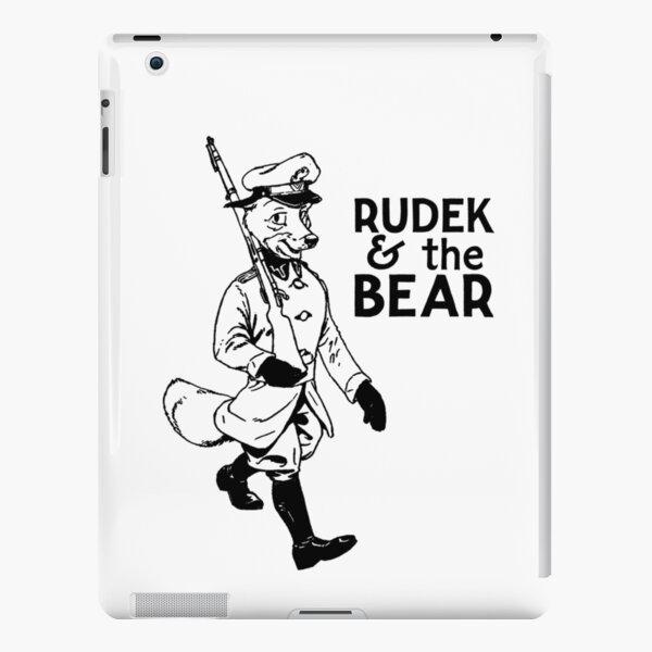 Rudek and the Bear iPad Snap Case