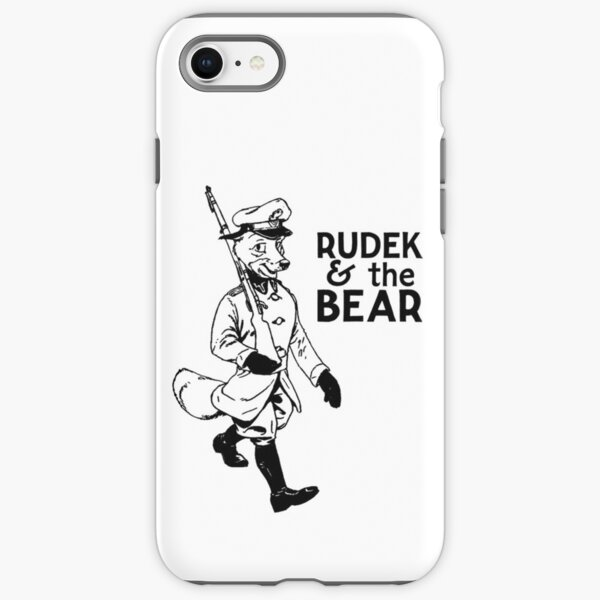 Rudek and the Bear iPhone Tough Case